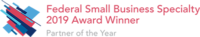 Esri Federal Small Business Specialty 2019 Award Winner