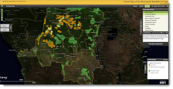 Forest Atlas of the Democratic Republic of Congo
