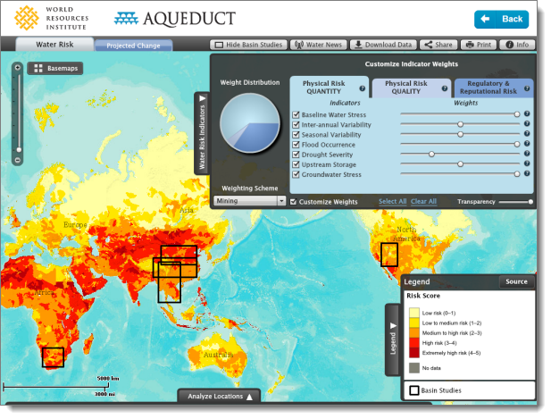 Aqueduct Water Risk Atlas