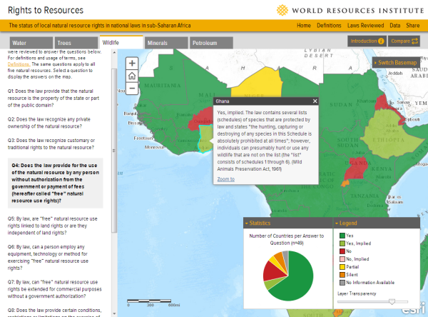 Map Of Africa Natural Resources.New Wri Map Confirms Long Suspected Notions Of Natural Resource