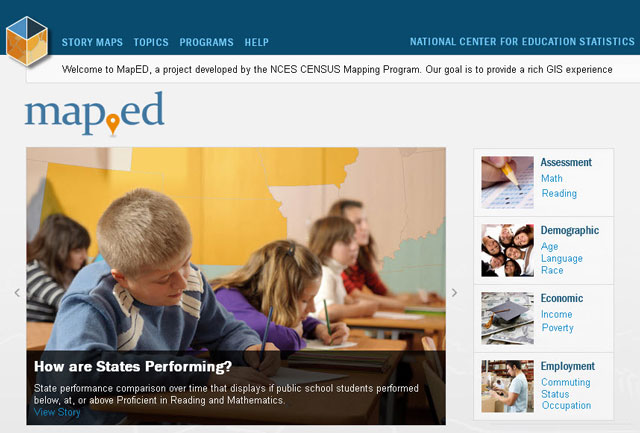 MapED Homepage