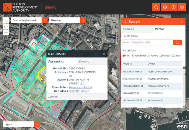 Zoning Viewer Detailed Sample