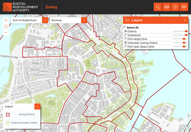 Zoning Viewer Map Sample