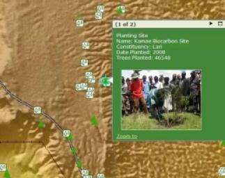 Green Belt Movement Maps Progress of Community-Based Tree Planting in Kenya