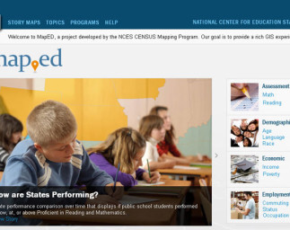 Mapping Education and Demographic Trends with MapED