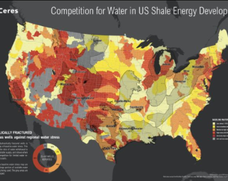 Ceres Maps Analyze Drought and Ground Water Depletion in Shale Development Areas