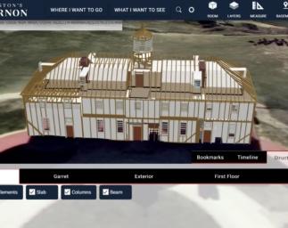 Exploring George Washington's Mount Vernon in 3D