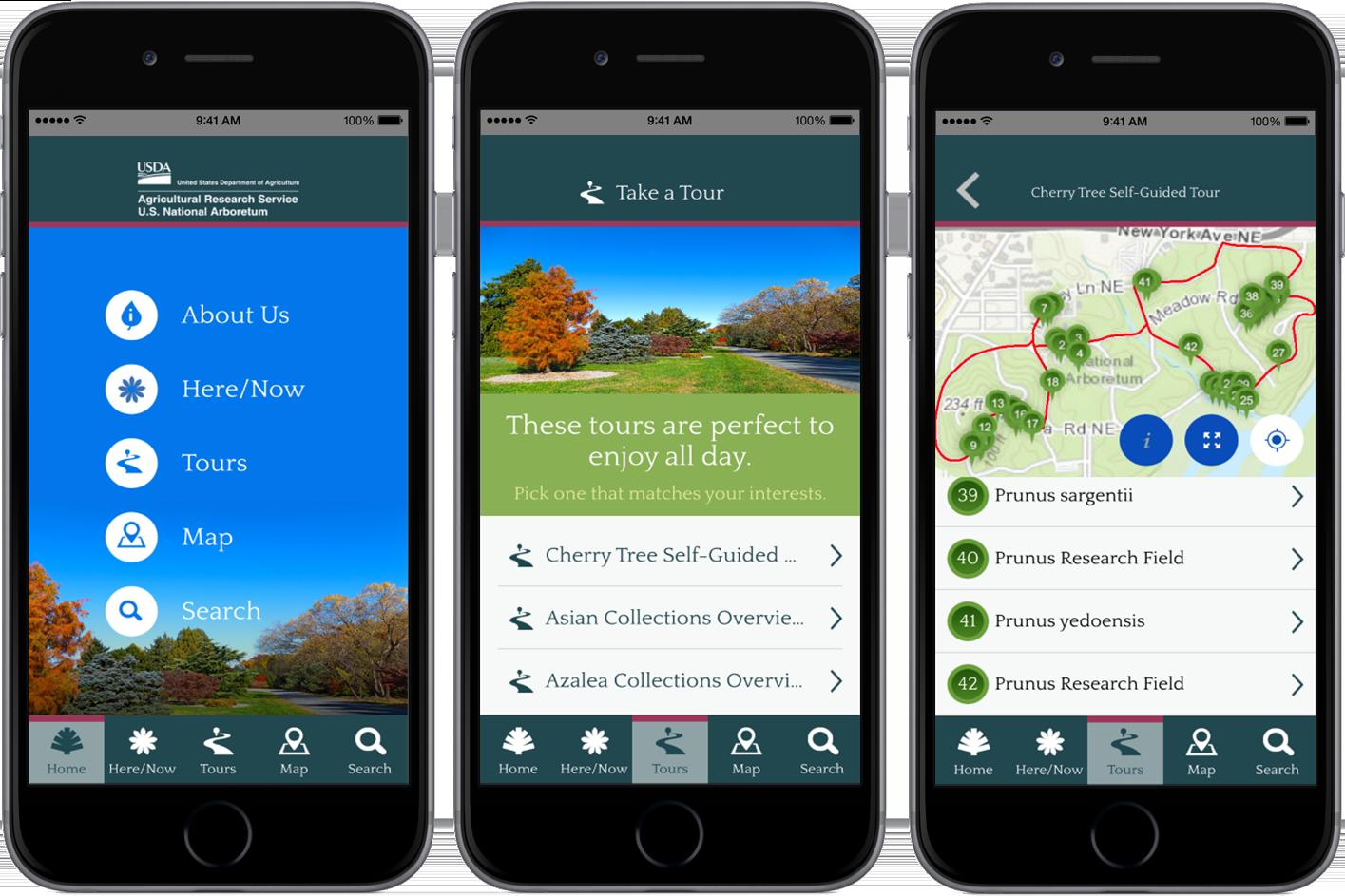 Arboretum Mobile app