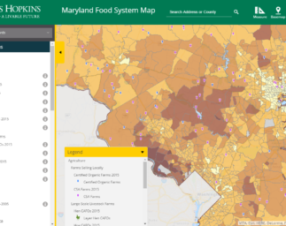 Untangling the Food System Web in Maryland