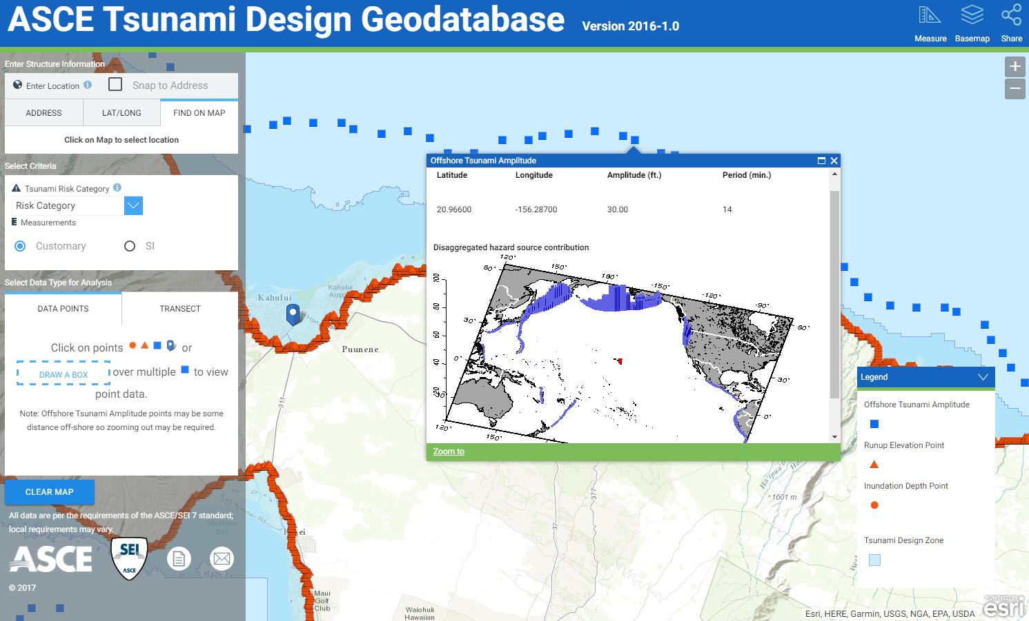 Offshore Tsunami Amplitude Analysis