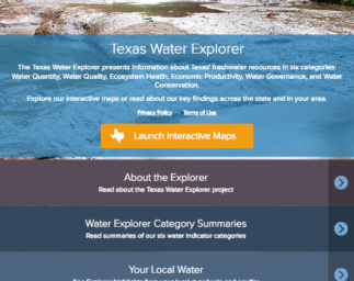 See What's New with the Texas Water Explorer!