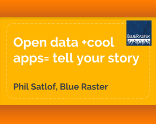 Open Data and Cool Apps: Blue Raster Presents at IMIA