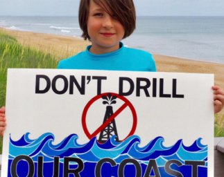 Story Map Delivers #ProtectOurCoast Campaign