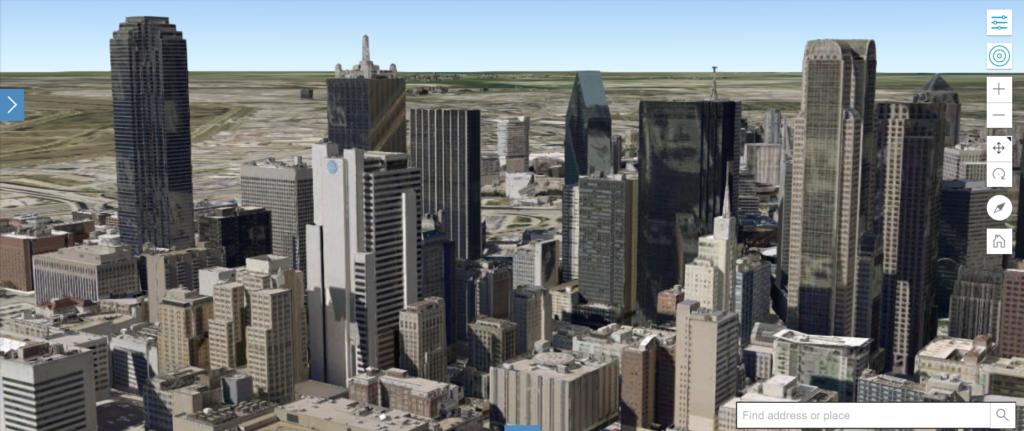 Internship work on 3D Buildings