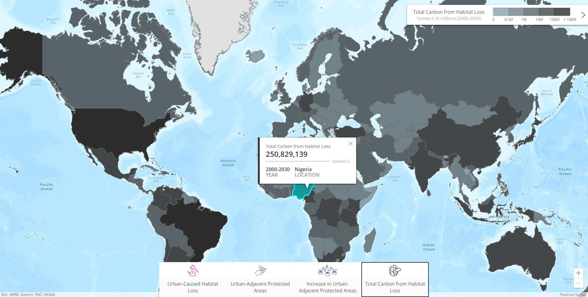 Habitat Story Map