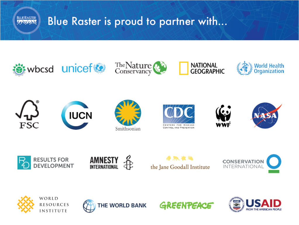 Blue Raster is proud to partner with: