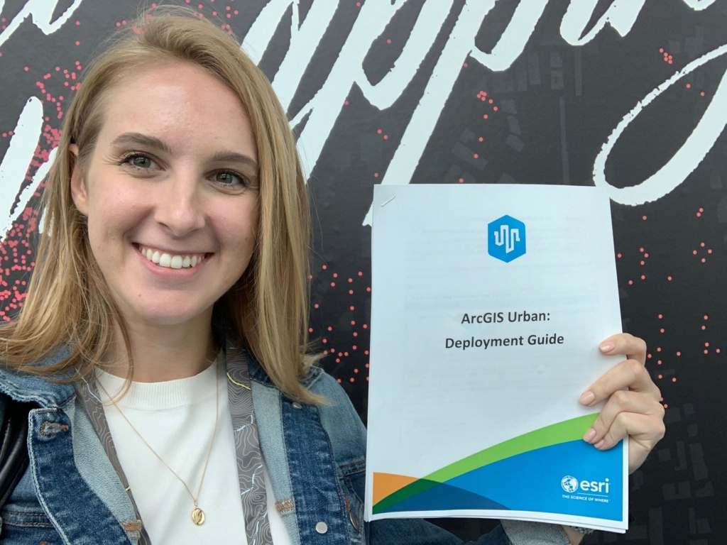 Megan Gottfried deploys ArcGIS Urban