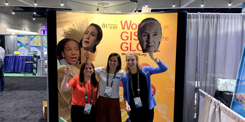 Our Blue Raster women in GIS Esri UC 2019