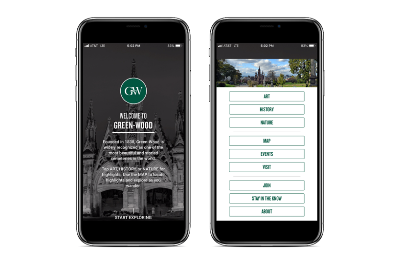 Green-Wood mobile app