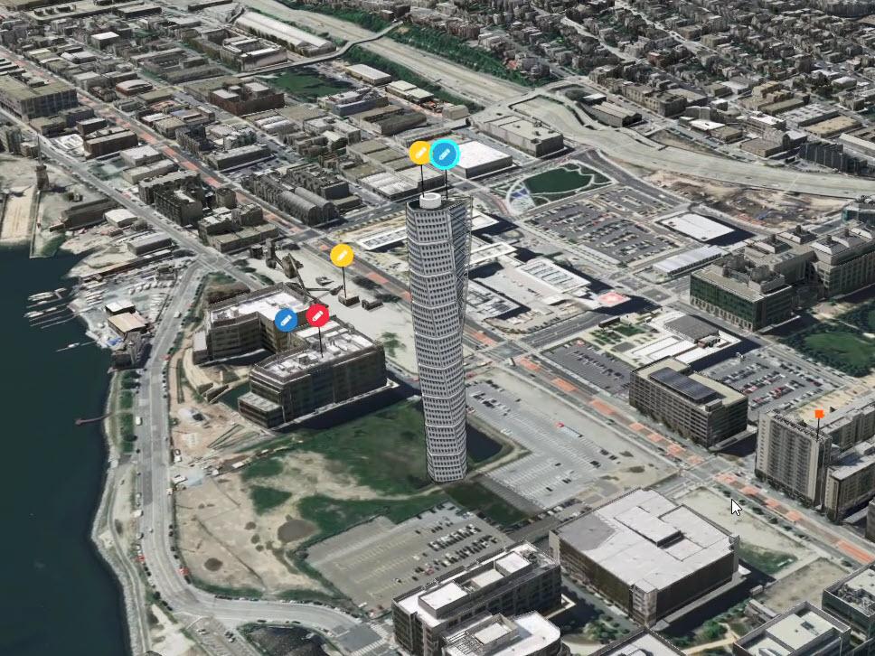 ArcGIS Urban Photo Realistic Building