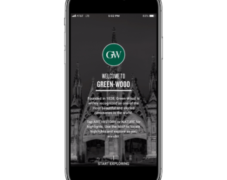 Green-Wood Mobile App: Celebrating Life in one of America's Historic Cemeteries