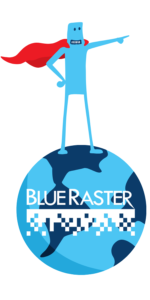 Blue Raster Map Hero 450 x 900 px