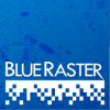 Small Blue Raster square logo