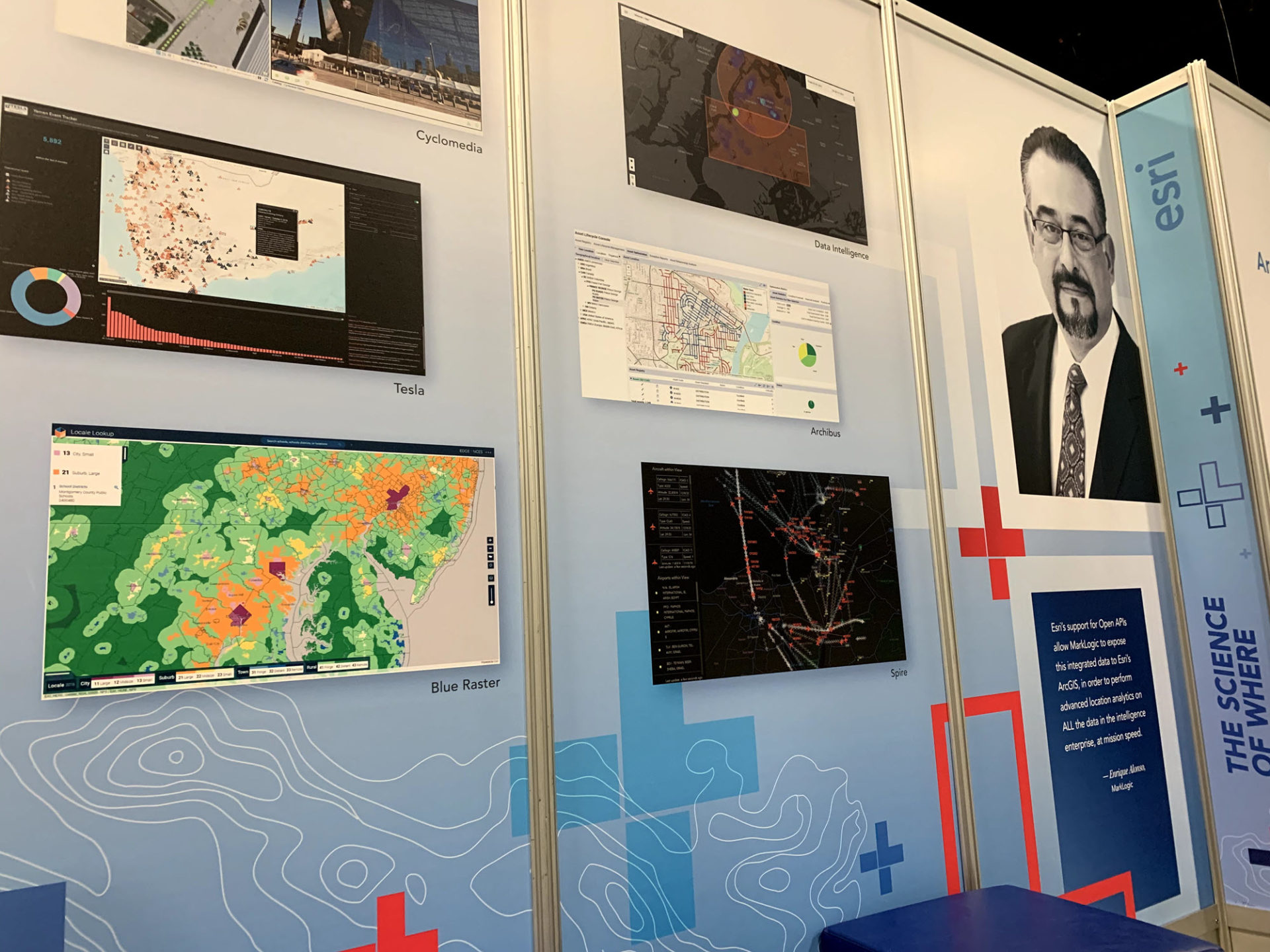 Locale Viewer Application Featured at the Map Gallery at the FedGIS 2020