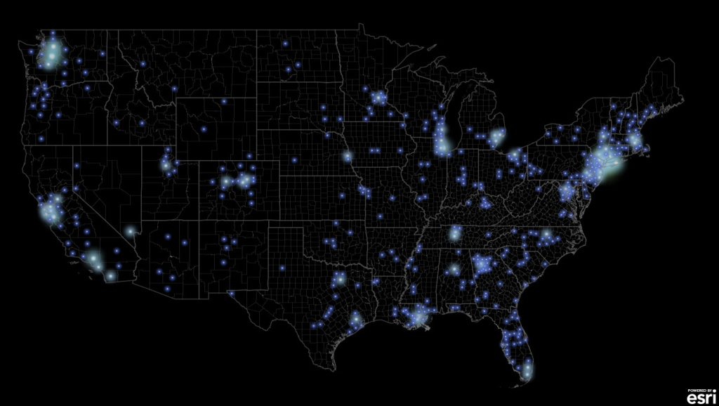 Firefly COVID map