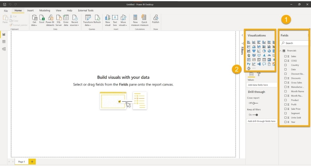 Power BI screen