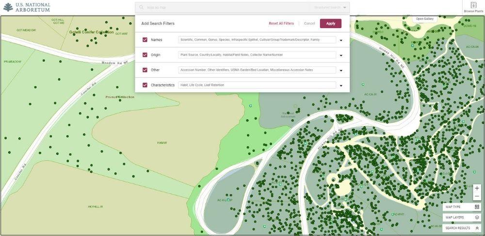 Arboretum Structured Search