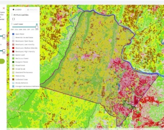 Estimating Community GHG Emissions from Land Use Change