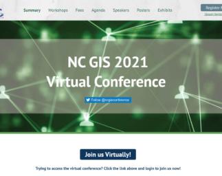 Blue Raster at NC GIS