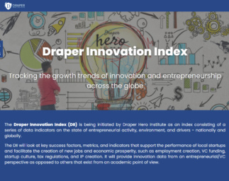 Tracking Trends of Innovation and Entrepreneurship with The Draper Innovation Index