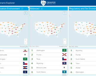 Explore Innovation and Entrepreneurship in the USA with The Draper Innovation Index U.S.