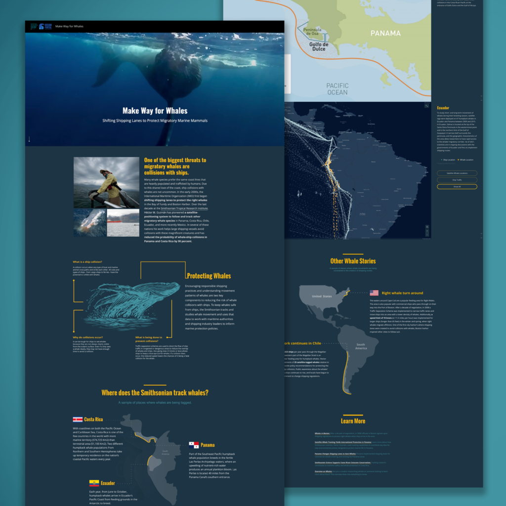 Make Way for Whales StoryMap